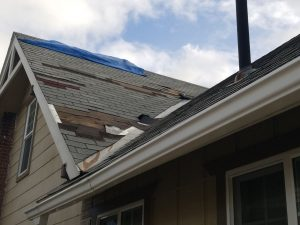 Wind Damage - A Quality Roof Now