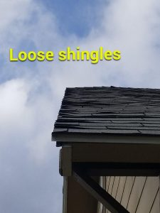 Loose Shingles - A Quality Roof Now